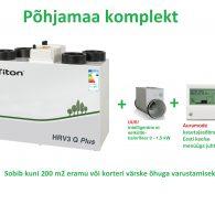 Soojustagastusega kompaktne, töökindel ja energiasäästlik ventilatsiooniagregaat