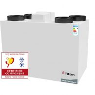 Niiskuse kontrolliga ventilatsiooniseade Titon HRV3 Passivhaus ECOaura
