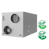 VUTR EH EC,ventilatsiooniseade,soojustagastusega,helisummutav,kompaktne,ventilatsiooniagregaat