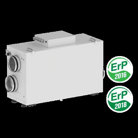 Vents VUT 300 H2 mini,Soojus- ja niiskustagastusega ventilatsiooniagregaat korterile või väiksemale eramule. Kontori ventilatsioon.